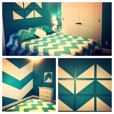 chevron bedroom decor chevron teenage bedroom room ideas pinterest chevron
