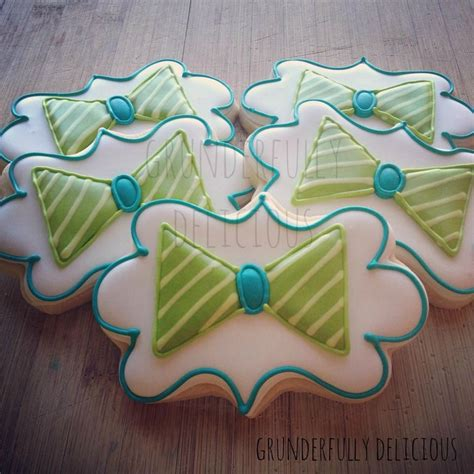 Bow Tie Baby Shower by Bow Tie Baby Shower Decorated Cookies By Grunderfully