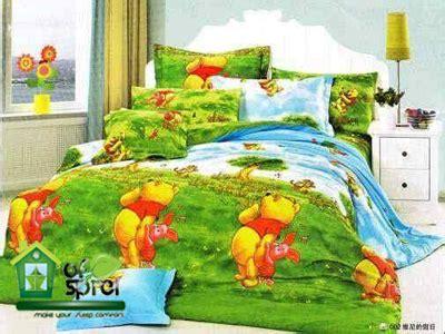 Sprei Pooh sprei katun jepang winnie the pooh houseofspreiku
