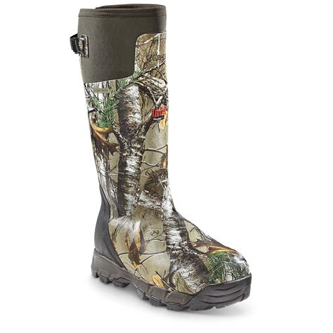 lacrosse s boots lacrosse s alphaburly pro 18 quot insulated camo boots