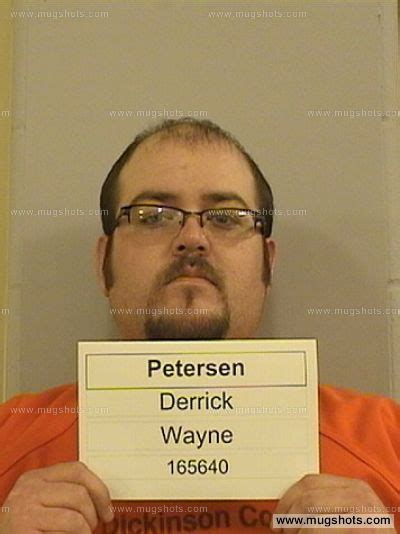 Wayne County Iowa Arrest Records Derrick Wayne Petersen Mugshot Derrick Wayne Petersen Arrest Dickinson County Ia