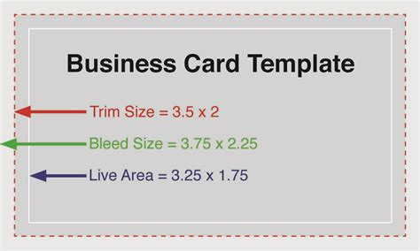 Biz Card Size Template by Business Cards Actual Size Image Collections Card Design