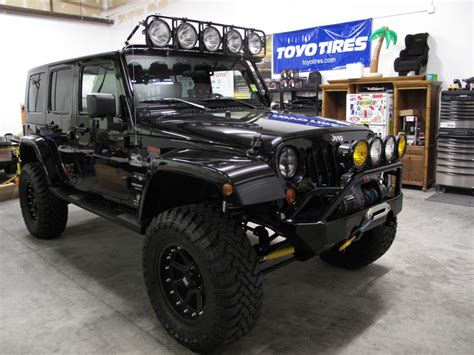 baja jeep kma baja designs let there be light show jkowners