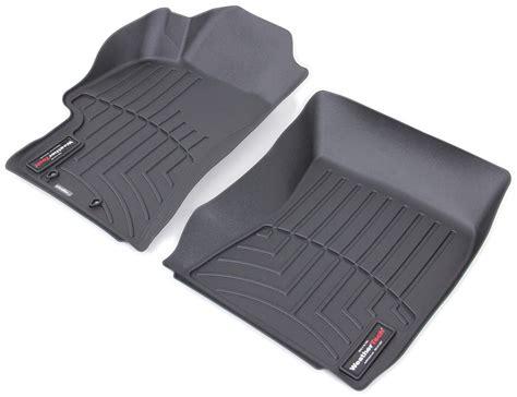 2008 subaru impreza weathertech front auto floor mats black