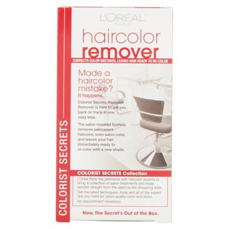 loreal hair color remover reviews l oreal colorist secrets haircolor remover best