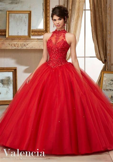 imagenes de vestidos increibles vestidos xv anos color rojo 11 ideas para fiestas de