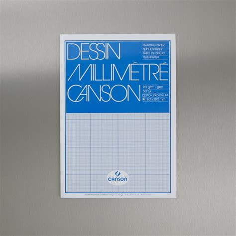 Canson Drawing Paper 110gsm A3 canson blue graph pad 90gsm 50 sheets a3 graphics supplies cass