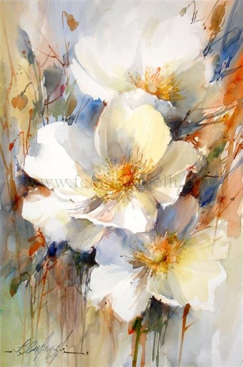 1439 best art watercolor flowers images on pinterest