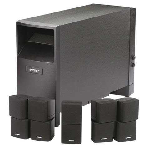 bose am15 ii 6 speaker home theatre system black 6