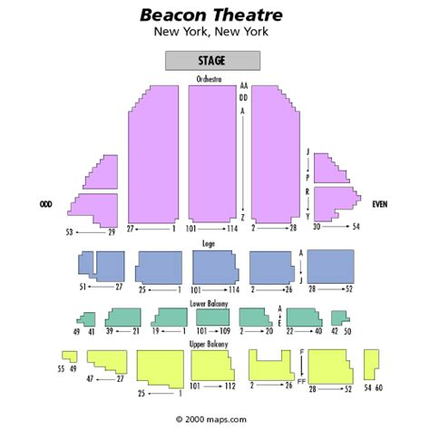 beacon theater seating chart chelsea handler may 21 tickets new york beacon theatre