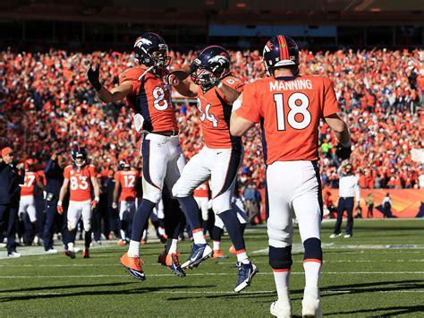 Broncos Past Patriots Into Super Bowl Super Bowl Xlviii 48 2014 | peyton manning denver broncos storm past patriots into