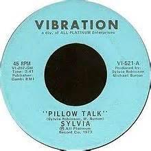 Sylvia Pillow Talk Free Mp3 by Miki Howard Pillow Talk Lyrics