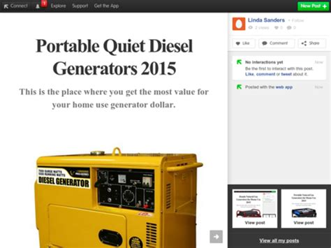 portable diesel and gas power generators for home