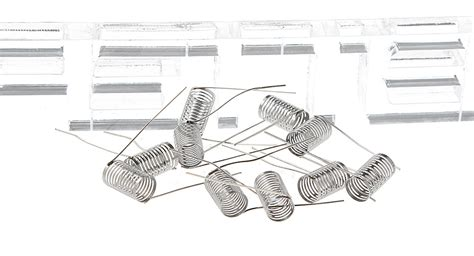 Notch Coil Stainless Steel 0 2 Ohm Ss Wire 316l Tokot Murah buy 316l stainless steel notch coil wire rba atomizers 10
