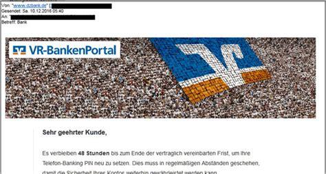 vr bank hm de business images beispiel einer phishing mail mit