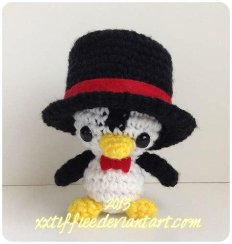 Pinguin Top top hat penguin by xxtiffiee on deviantart