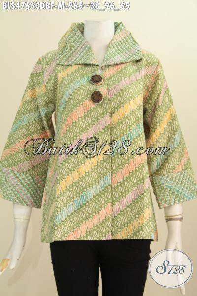 Baju Korpri Wanita Furing Size pakaian batik wanita model opnesel size m baju blus keren dan elegan bahan kain dolby di
