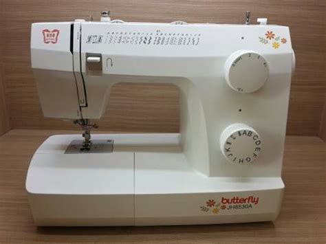 Mesin Jahit Butterfly Jh8530a Jual Mesin Jahit Butterfly Jh8530a Portable Service