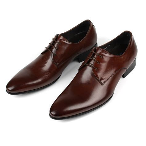 Mens dress shoes fashion wedding shoes bota masculina