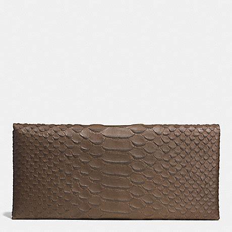 Gucci Envelope Embossed Wallet Envelope Wallet In Python Embossed Leather F51867