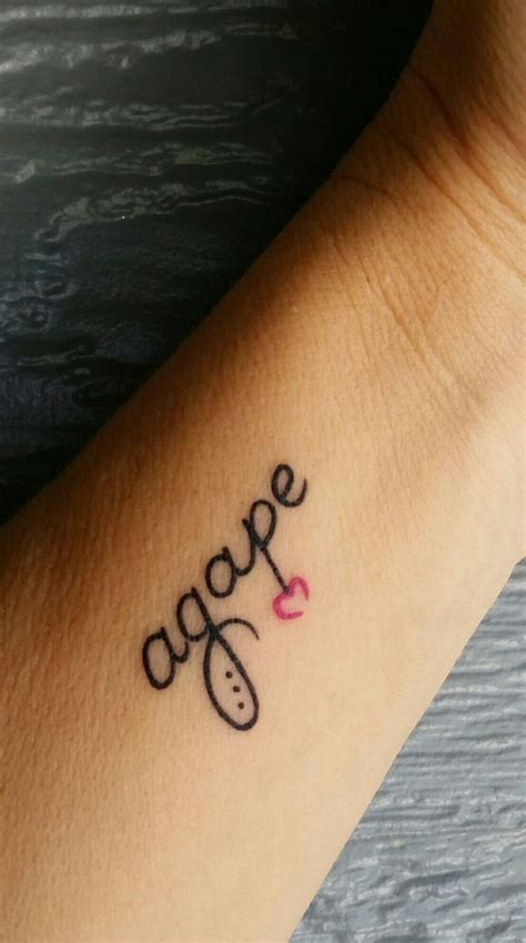 agape tattoo best 25 agape ideas on unconditional
