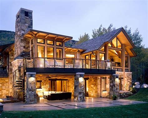 colorado style house plans a warm yet contemporary mountain feel in a colorado home