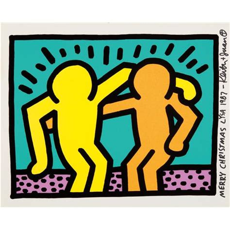 keith haring best buddies keith haring best buddies from pop shop i 1987
