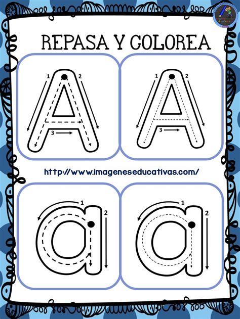 imagenes educativas las vocales cuaderno para repasar trazo y abecedario vocales 2
