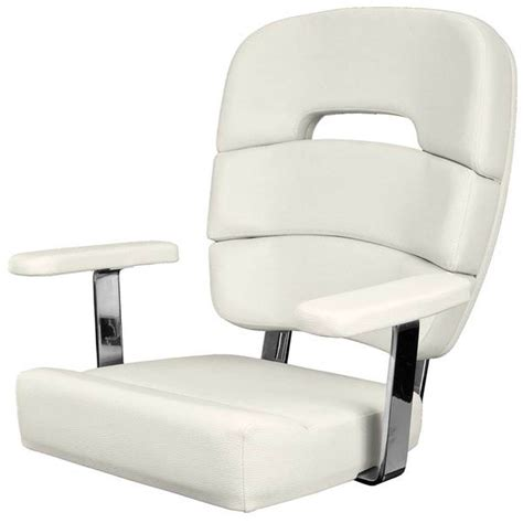 Marine Chairs by Taco Marine Coastal Helm Chair Standard With Armrests