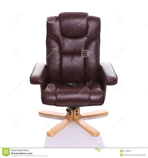 Heated Recliner by Leather Heated Recliner Chair Stock Photo Image 27128040
