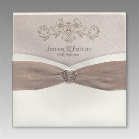 Hochzeitseinladungen Mit Herz by Exquisite Hochzeitseinladung Mit Strass Stein Herz