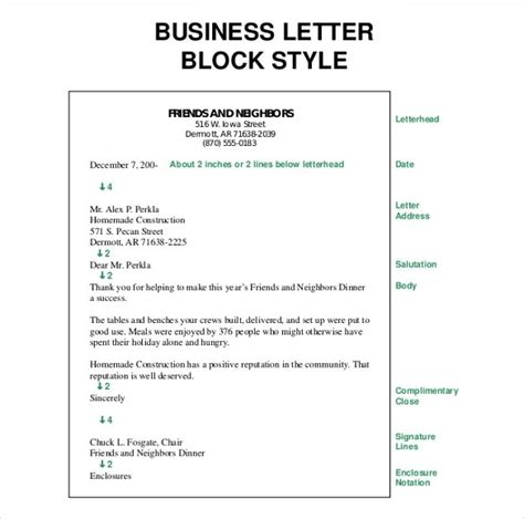 business letter format enclosed documents business letter format enclosure notation exles and forms