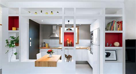 Decoration Interieur Petit Espace 2166 by Cuisine Ouverte Une R 233 Novation Moderne Et Fonctionnelle