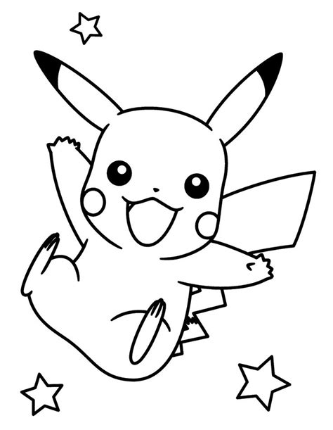 Printable Pikachu Coloring Pages Coloring Me In Coloring Pages