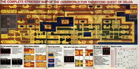 printable zelda map gamasutra nintendo power remembering america s longest