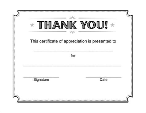 free thank you card templates in publisher 28 microsoft certificate templates for free