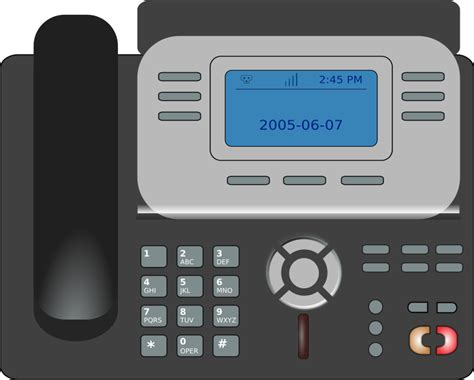 free desk phone clipart voip phone