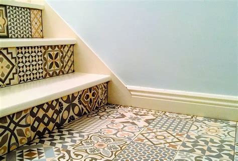 Spanish Home Designs heritage tiles in art deco style for kitchens and bathrooms