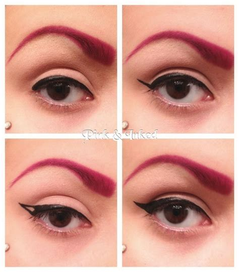 eyeshadow tutorial reddit simple winged eyeliner tutorial i made eyeliner