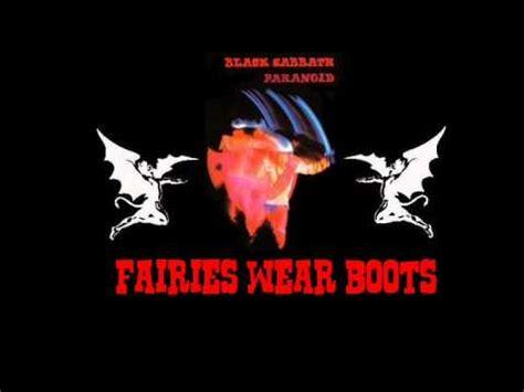 black sabbath shes fairies wear boots basement black sabbath