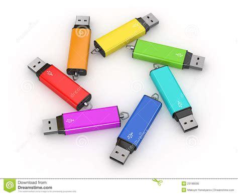 New 3d Custom Design Usb 20 Memory Flash Disk 8gb usb flash memory on white background stock illustration image 23188595