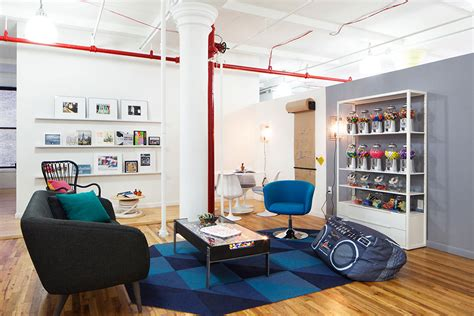 design milk nyc a fun nyc office inspired by the flatiron district