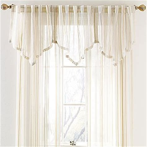 Jcpenney Window Valance stripe ascot valance jcpenney home