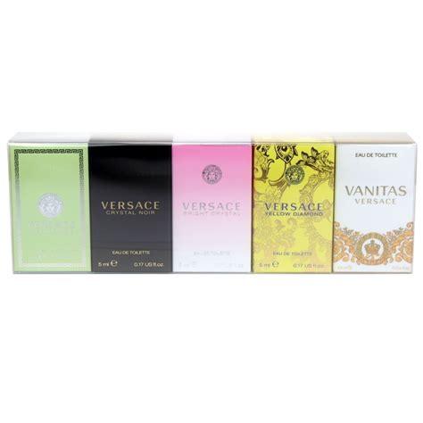 Versace Vanitas Edt 4 5ml giorgio armani variety 5 mini gift set
