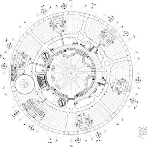 post circle floor plans 17 best images about radial architecture on dubai circles and competition