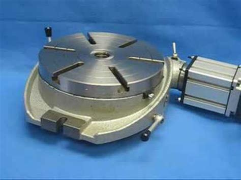10 motorized rotary table
