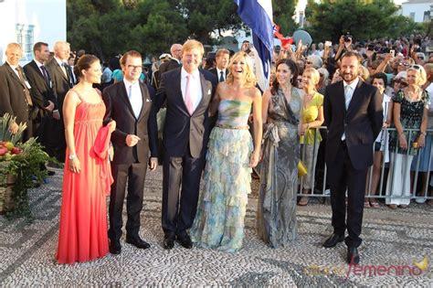 casas reales europa miembros de las casas reales europeas en la boda de