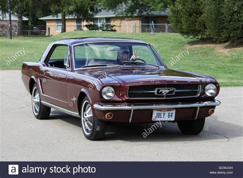 Mustang Auto 1964 by Ford Mustang 1964 Stock Photos Ford Mustang 1964 Stock