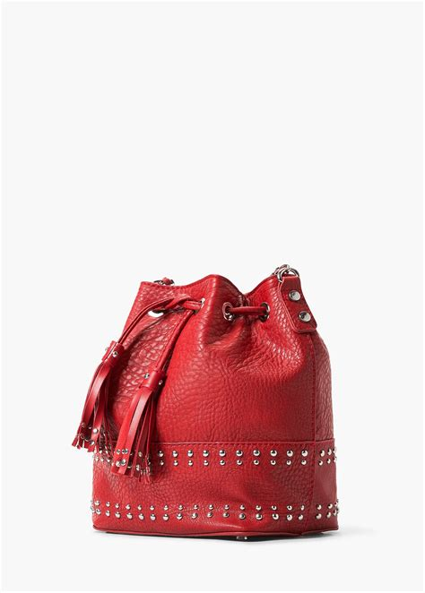 Original Mango Studed Bag lyst mango studded bag in