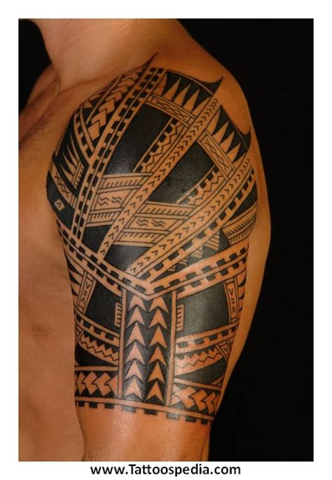 upper arm tribal tattoos cool ideas for arm 4